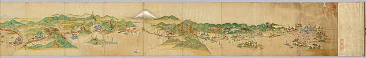 old japanese map
